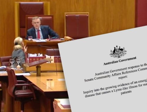 Australian Government response to Inquiry into the growing evidence of tick-borne disease that causes a Lyme-like illness.